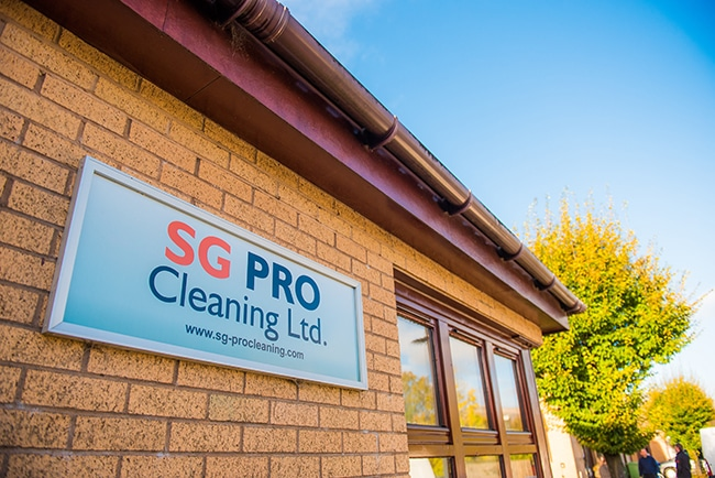 SG Pro Cleaning Alloa Contact Us