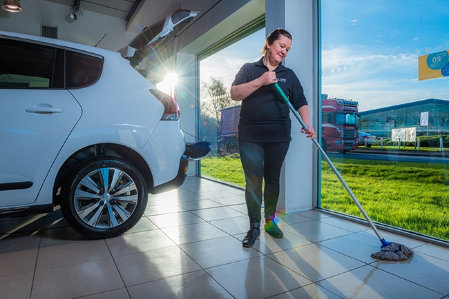 office and commercial cleaning dundee