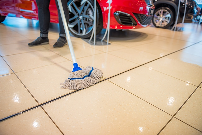 commercial and office cleaning falkirk
